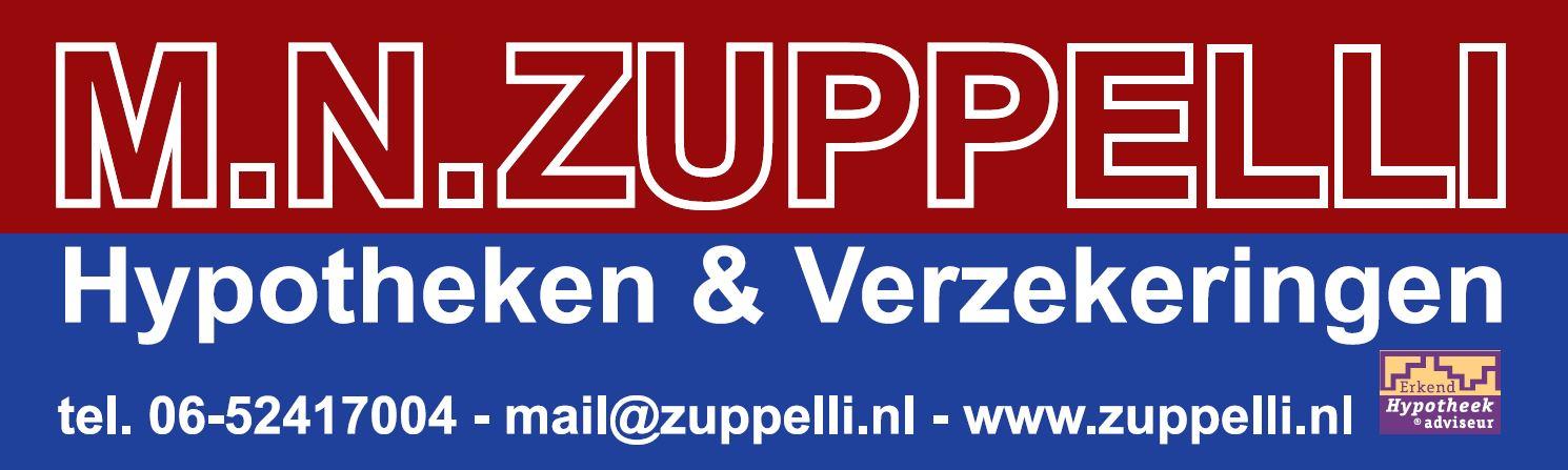 MN Zuppelli hypotheken & verzekering hoofdsponsor